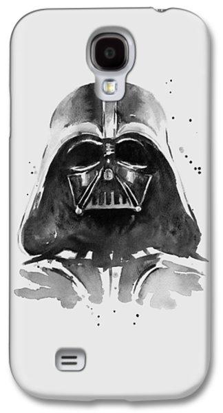 Darth Vader Watercolor Galaxy S4 Case by Olga Shvartsur