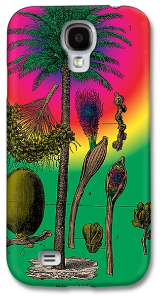 Tree Roots Mixed Media Galaxy S4 Cases - Date Palm Galaxy S4 Case by Eric Edelman