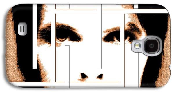 David Bowie / Changeling  Galaxy S4 Case by Elizabeth McTaggart