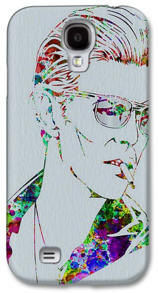 David Bowie Galaxy S4 Case by Naxart Studio