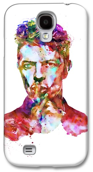 David Bowie  Galaxy S4 Case by Marian Voicu