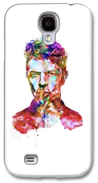 David Bowie  Galaxy S4 Case by Marian Voicu
