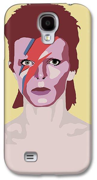 David Bowie Galaxy S4 Case by Nicole Wilson