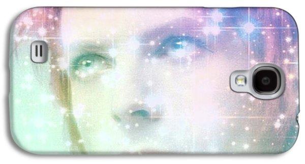 David Bowie / Starman 2 Galaxy S4 Case by Elizabeth McTaggart