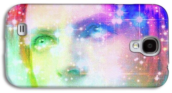 David Bowie / Starman Galaxy S4 Case by Elizabeth McTaggart