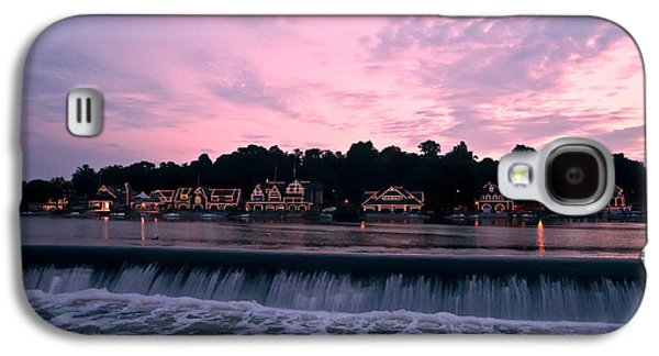 Dawn At Boathouse Row Galaxy S4 Case by Bill Cannon