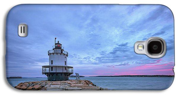 Dawn At Spring Point Ledge Lighthouse Galaxy S4 Case by Rick Berk