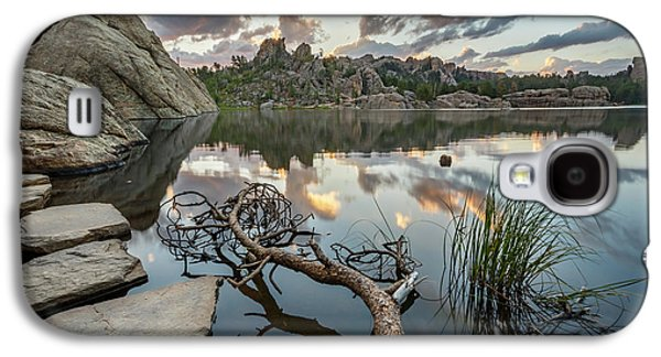Galaxy S4 Case featuring the photograph Dawn At Sylvan Lake by Adam Romanowicz