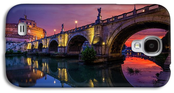 Dawn By The Tiber River Galaxy S4 Case by Inge Johnsson