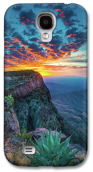 Dawn In The Chisos Galaxy S4 Case by Inge Johnsson