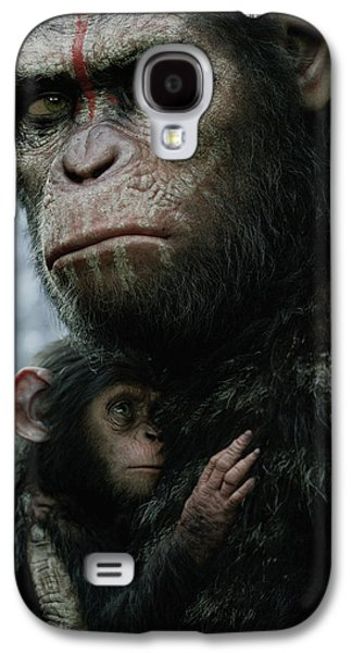 Dawn Of The Planet Of The Apes Galaxy S4 Case by Caio Caldas