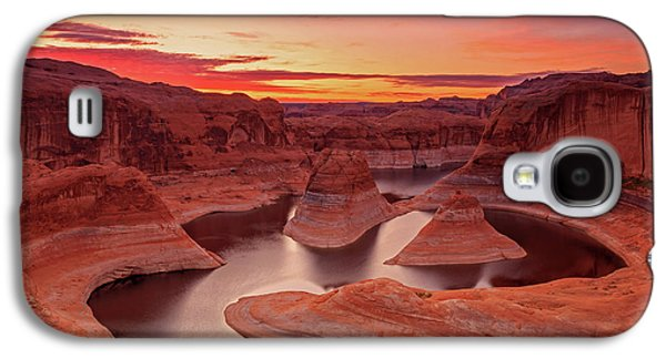 Dawn Sky Above Reflection Canyon. Galaxy S4 Case by Johnny Adolphson