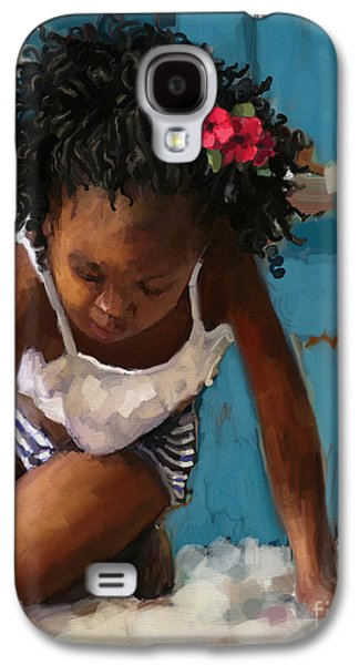 Day At The Beach Galaxy S4 Case