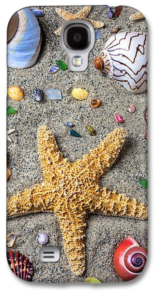 Day At The Beach Galaxy S4 Case by Garry Gay