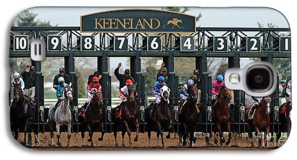 Keeneland Race Day Galaxy S4 Case by Angela G
