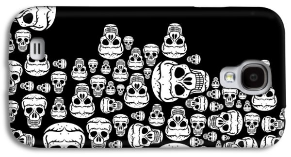 Day Of The Dead Galaxy S4 Case by Mark Ashkenazi
