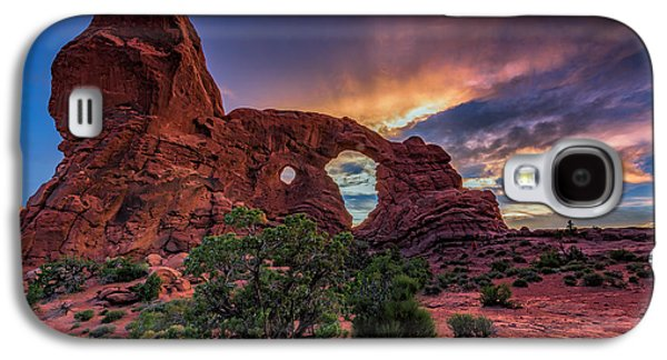 Day's End At Turret Arch Galaxy S4 Case