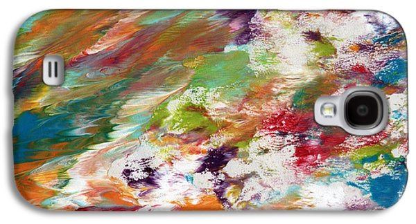 Days Gone By- Abstract Art By Linda Woods Galaxy S4 Case by Linda Woods