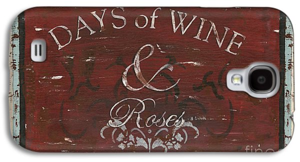 Days Of Wine And Roses Galaxy S4 Case by Debbie DeWitt