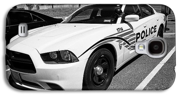 dc metropolitan police patrol cruiser car judiciary square Washington DC USA Galaxy S4 Case