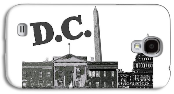 Dc On Edge Galaxy S4 Case