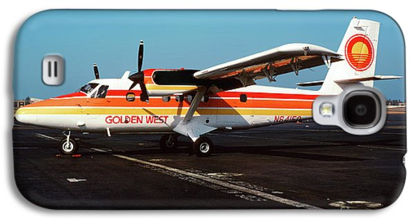 De Havilland Canada Dhc-6 Twin Otter, N64150 Galaxy S4 Case by Wernher Krutein