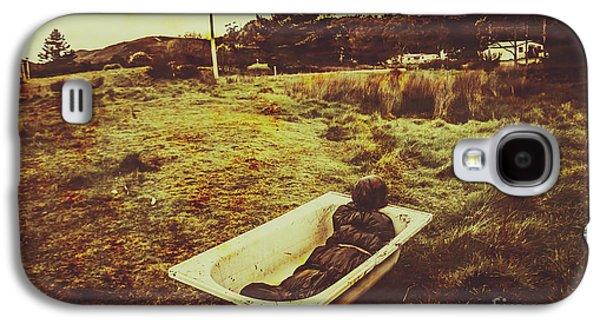 Dead Body Lying In Bath Outside Galaxy S4 Case by Jorgo Photography - Wall Art Gallery