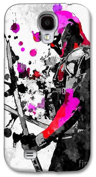 Deadpool Grunge Galaxy S4 Case