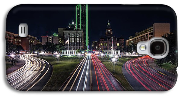 Dealey Plaza Dallas At Night Galaxy S4 Case