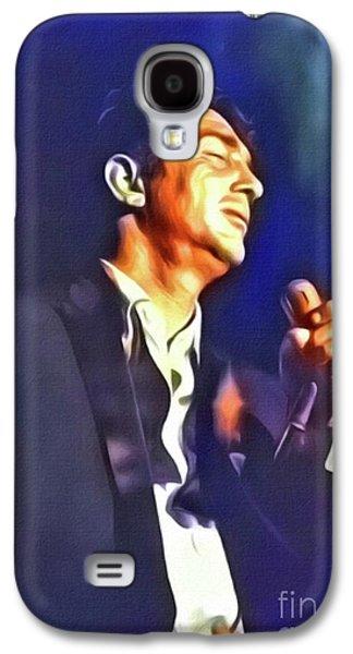 Dean Martin, Hollywood Legend. Digital Art By Mb Galaxy S4 Case