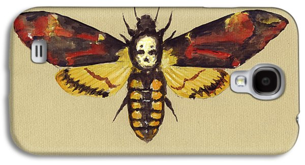 Death Head Hawk Moth Galaxy S4 Case by Juan Bosco