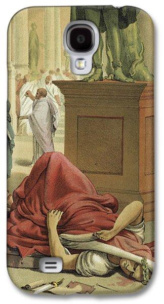 Death Of Julius Caesar, Rome, 44 Bc  Galaxy S4 Case