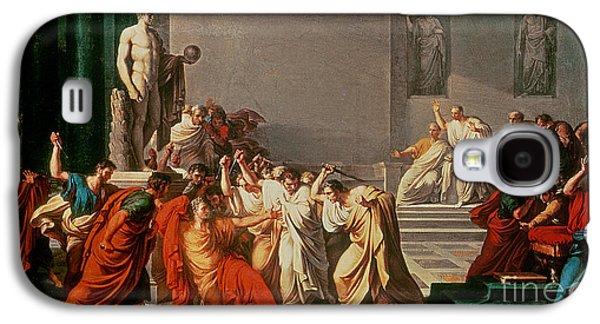 Death Of Julius Caesar Galaxy S4 Case by Vincenzo Camuccini