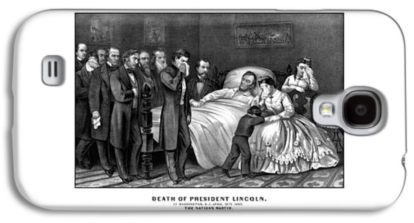 Death Of President Lincoln Galaxy S4 Case by War Is Hell Store