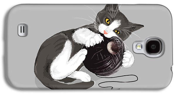 Death Star Kitty Galaxy S4 Case by Olga Shvartsur