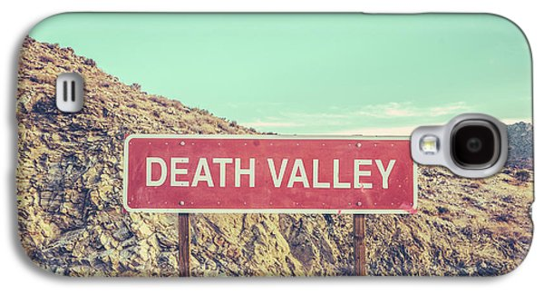 Travel Galaxy S4 Case - Death Valley Sign by Mr Doomits