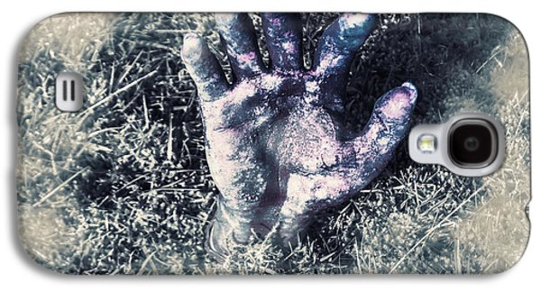 Decaying Zombie Hand Emerging From Ground Galaxy S4 Case by Jorgo Photography - Wall Art Gallery