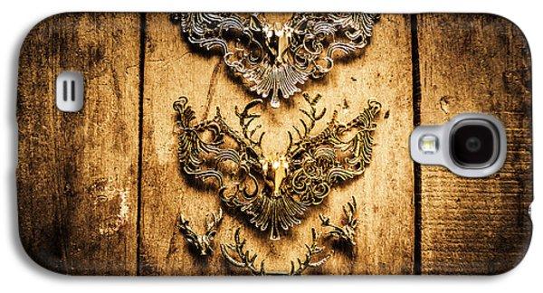 Decorative Moose Emblems Galaxy S4 Case