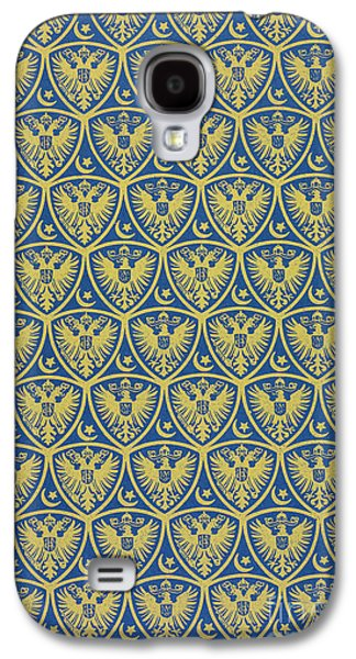 Decorative Pattern With The German Coat Of Arms Galaxy S4 Case by German School