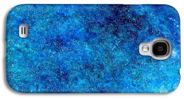 Deep Blue #1 Galaxy S4 Case by Adrienne Martino