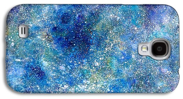 Deep Blue #4 Galaxy S4 Case by Adrienne Martino