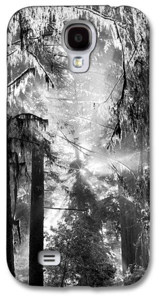 Deep Forest Light Galaxy S4 Case