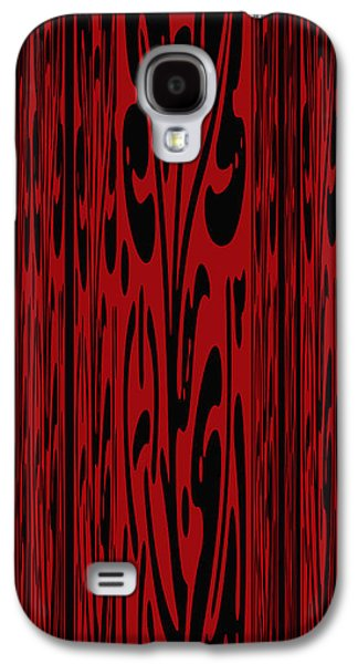 Deep Red Abstract Galaxy S4 Case by Aimee L Maher Photography and Art Visit ALMGallerydotcom