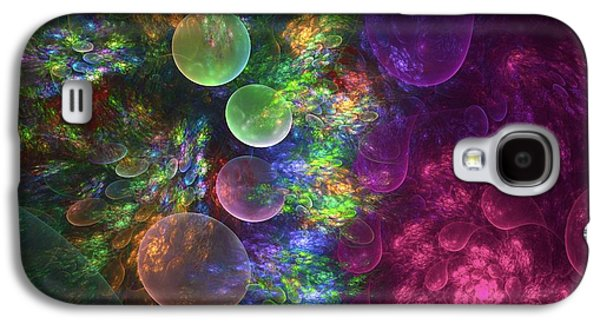 Deep Sea Flora I Galaxy S4 Case by Amorina Ashton