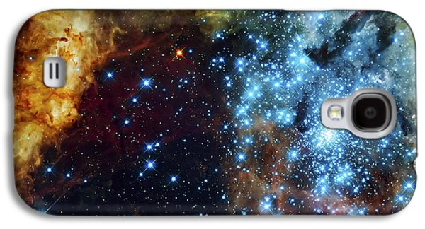 Deep Space Fire And Ice 2 Galaxy S4 Case by Jennifer Rondinelli Reilly - Fine Art Photography