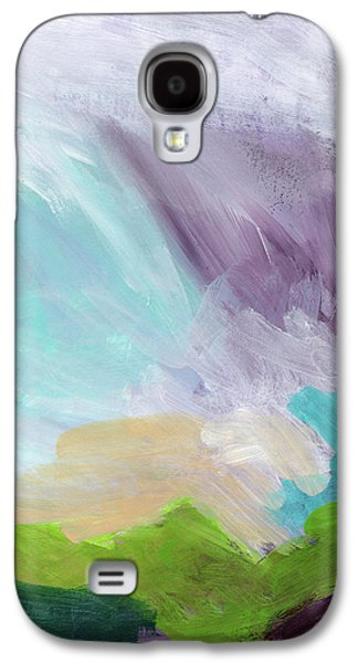 Deepest Breath- Abstract Art By Linda Woods Galaxy S4 Case