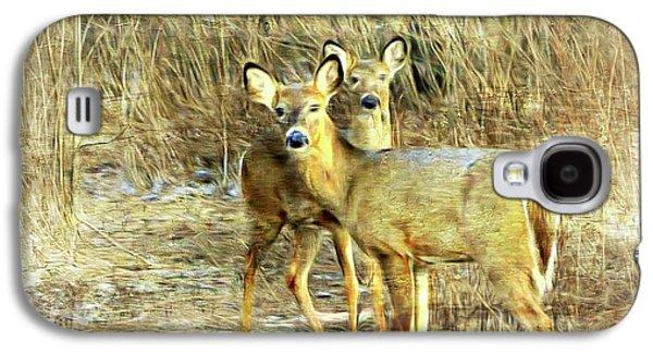 Deer Duo 6 Galaxy S4 Case by Marty Koch