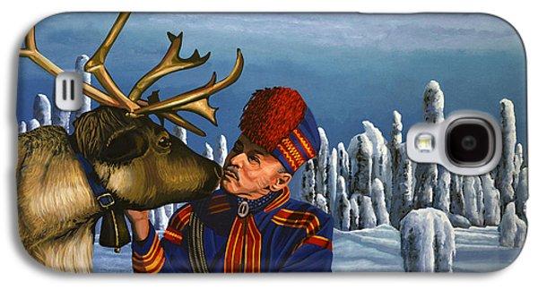 Deer Friends Of Finland Galaxy S4 Case by Paul Meijering