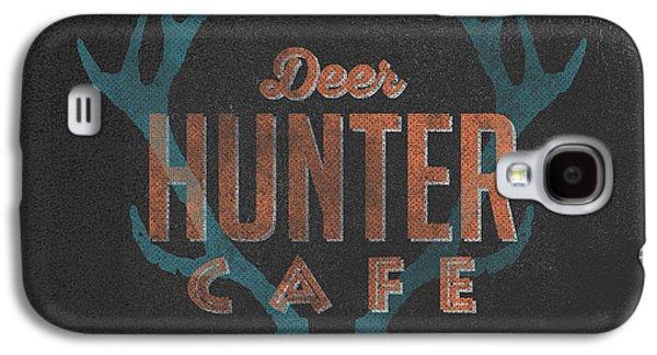 Deer Hunter Cafe Galaxy S4 Case by Edward Fielding