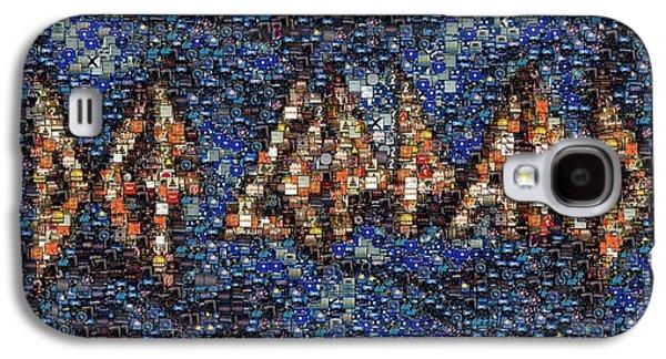 Def Leppard Galaxy S4 Case - Def Leppard Albums Mosaic by Paul Van Scott